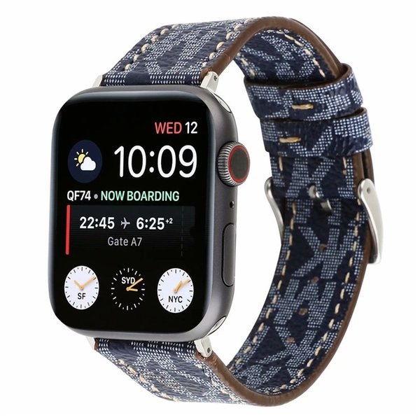 Business Casual Trend Soft Retro Genuine Leather Watch Strap 38mm 42mm Watchband for Apple Watch Accessories Wristband Bracelet Replacement