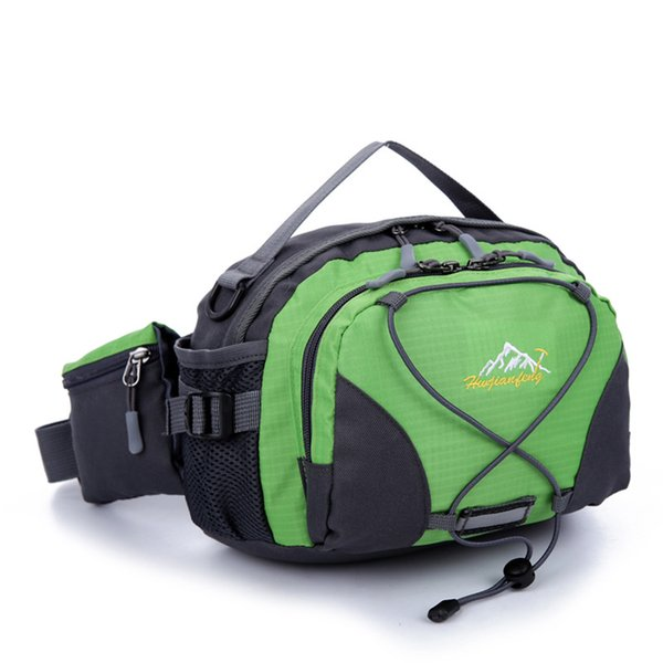 Fashion Trendy Outdoor Hiking Pockets Large Capacity Shoulder Bags Casual Wear Resistant Handbags Multi Color Unisex Waist Packs Breathable