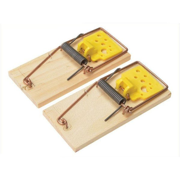 Snap Wooden Mouse for Mice Traps with Eco friendly for Household Pest Control Home Garden Mice Traps