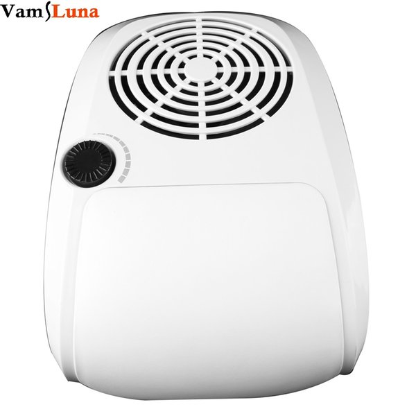 40W Dust Suction Fan Nail Dust Collector Nail Art Beauty With 2 Bags Manicure Tools Equipment