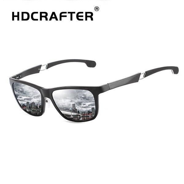 HDCRAFTER occhiali da sole firmati Men's Sunglasses Color Film UV400 Polarized Glasses Frame Outdoor Sports womens designer sunglasses L019