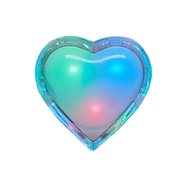 BRELONG heart-shaped wall lamp plug-in colorful night light with automatic dusk to dawn sensor for children and girls boys bedroom
