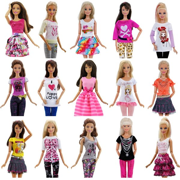 Hot Fashion Handmade Party High Quality Dress Accessories Clothes For Doll Cloth Christmas Gift Girl Toys Pants Skirt