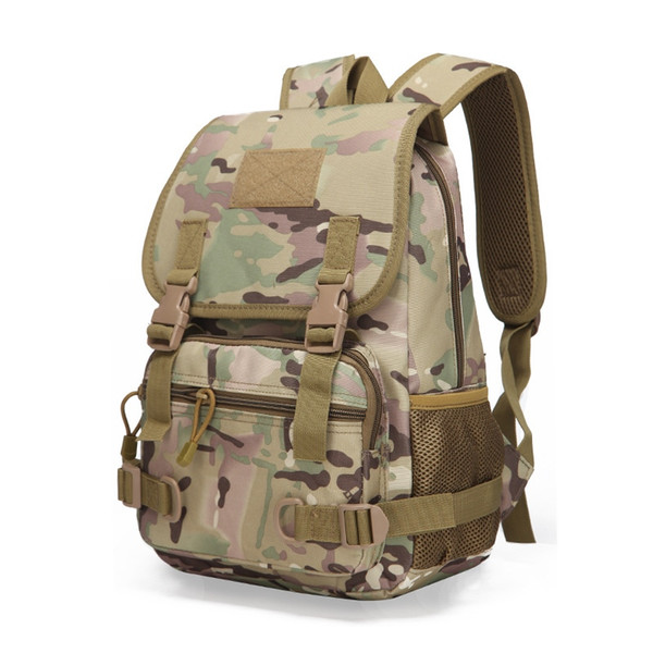 Tactical MOLLE Backpack Children Small Backpack School Bags Kids Military Rucksack Assault Pack #109050
