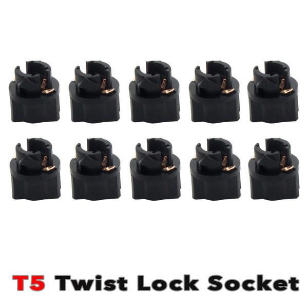 10x T5 LED Twist Socket Support de lampe de remplacement du cluster de tableau de bord PC74