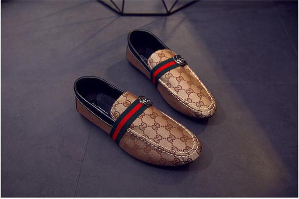 Marka Ayakkabı Ile Mektuplar Baskılı Tasarımcı Ayakkabı Erkekler Kapalı Toe kadınlar Için Yüksek Kaliteli Rahat Ayakkabılar Elastik bant