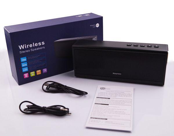 Atacado-20W Alto-falante Bluetooth Potência Banco Poderoso 20W Portátil Mini Speaker Altifalante Sem Fio do Computador o mesmo para Piple S5 venda Quente