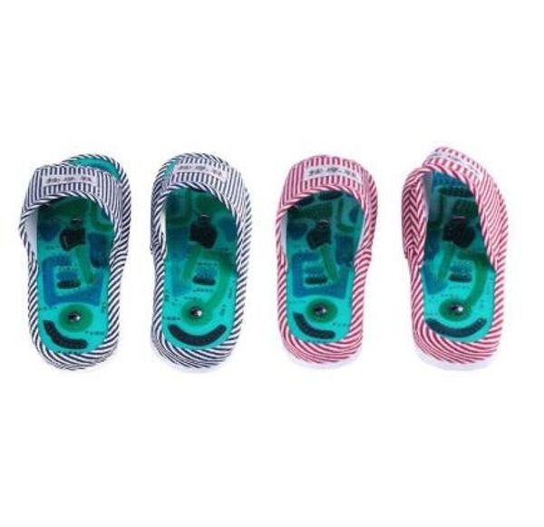 Ayak Masaj Terliği Akupunktur Sağlık Ayakkabı Refleksoloji Manyetik Sandalet Akupunktur Sağlıklı Ayak Bakımı Masaj Mıknatıs Ayakkabı