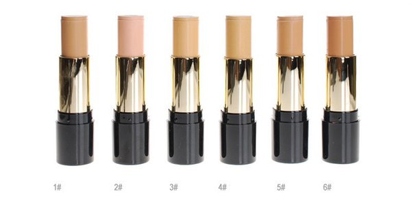 Party Queen HD Oil-Free Stick Foundation for Oily Skin Natural Concealer Oil-control Face Makeup Professional Make up Base Product