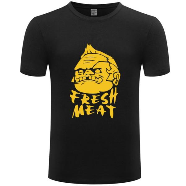 Dota t-shirt à manches courtes de viande fraîche en tête jeu Hot colorfast tees vêtements d'impression unisexe tshirt couleur loisirs