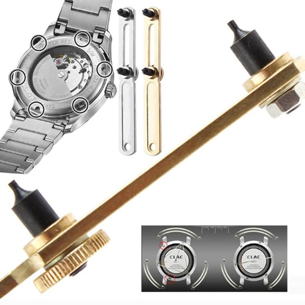 watch tools Watch Back Case Cover Opener Wrench Replacement Button Cell Repair Tool horloge opener