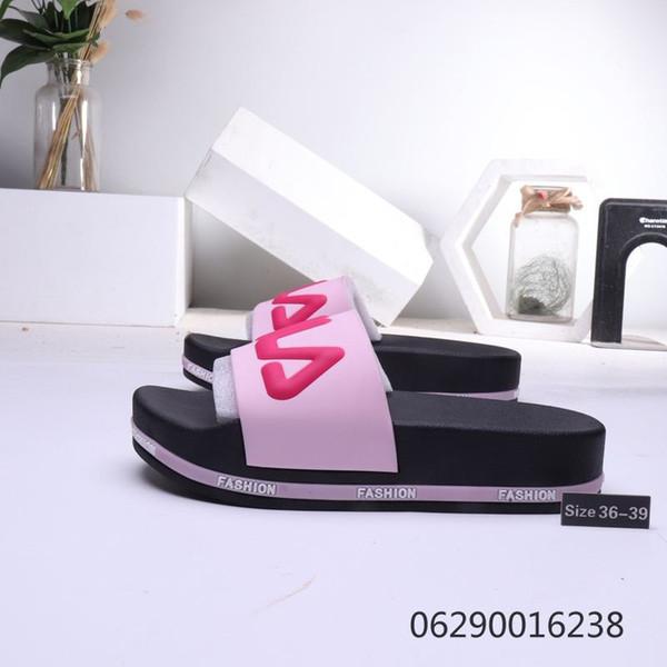 Wholesale Pure Color Summer Hit Lovers EVA Flip-flops Home Casual Fuchsia Flip-flops Designer Sandals Comfortable shoes Size 35-44 151561-2