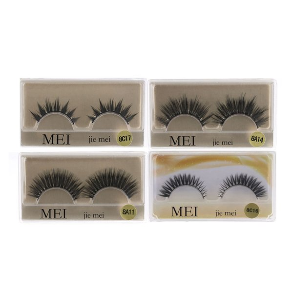 1Pair Cross False Eyelashes Beauty Makeup Mini Half Corner Black False Eyelashes Natural Eye Lashes Cosmetics Extension Tools