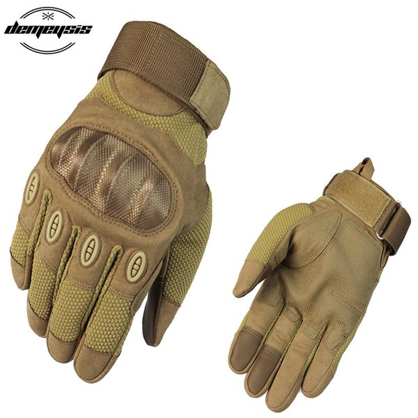 2018 New Outdoor Sports Gloves Full Finger Touch Screen Tactical Gloves for Hunting Hiking Paintball Shooting