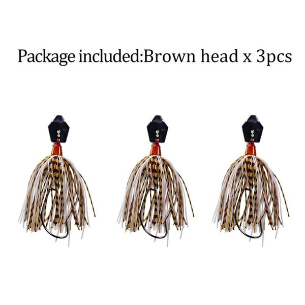 3 pieces brownhead