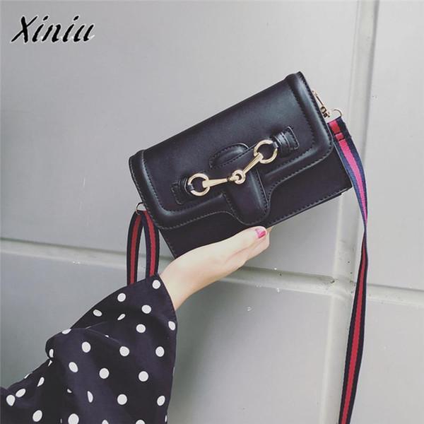 Xiniu Women Luxury Handbag Fashion Vintage Handbag Lady Wild Flap Crossbody Shoulder Bag Leather Messenger Bags Bolsa Feminina