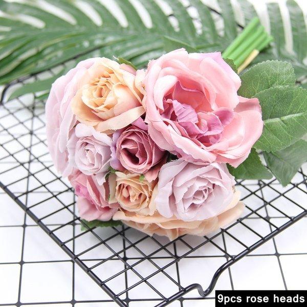 1240-Violet Rose-9PC
