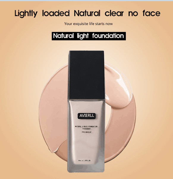newest AVIERLL Moisturizing Concealer Foundation Long Lasting makeup Waterproof Oil Control Makeup Pre-milk Brightening Complexion BB Cream