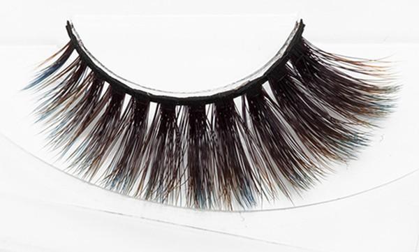 2018 MINK eyelashes Selling 1pair lot Real Siberian 3D Full Strip False Eyelash Long Individual Mink Lashes Extension