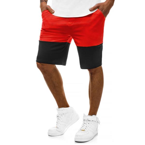 Summer New Men Fashion Hip-Hop Pants Casual Sports Slim Pants Patchwork Fitness Jogging Plus Size M-3XL