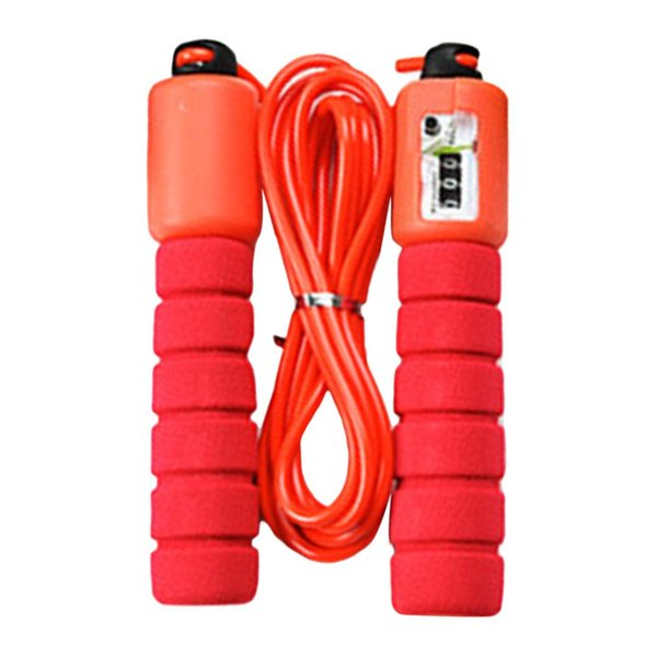 Jump Ropes With Counter Speed Counting Jump Skip Rope Skipping Wire Calories fitness Sports Fitness Adjustable Fast