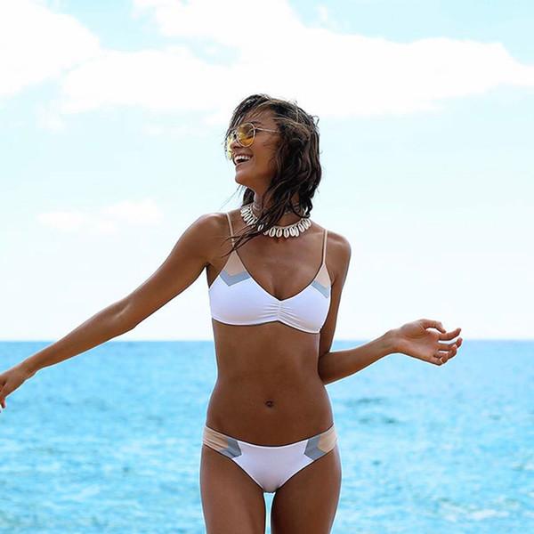 RXRXCOCO Hot Swimwear Women Summer Bathing Suit Push Up Brazilian Bandage Bikini Set Sexy Swimsuit Biquini Feminino 2019