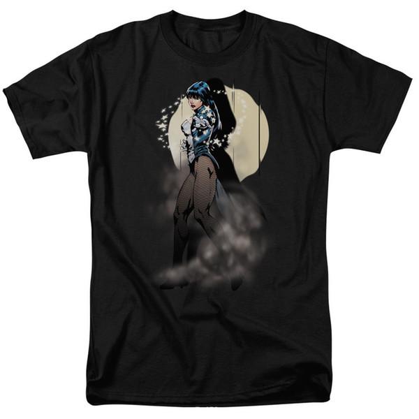 T-shirt della Justice League Of America Zatanna Illusion Taglie comode per l'ingrosso S - 3x T-shirt da uomo di nuova stampa estiva