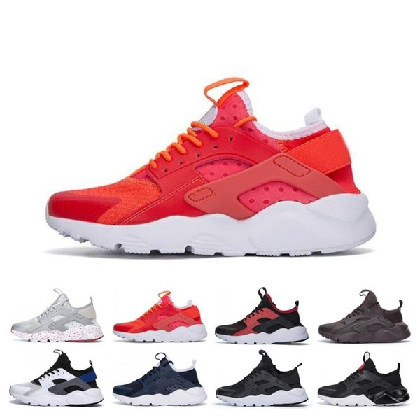 News Huarache 4.0 Shoes Running Shoes For Women Men Lightweight Outdoor Huaraches Red Black Sneakers Athletic Sport Huarache Shoes