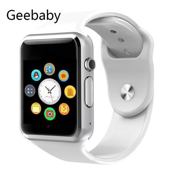 Geebaby Sport wasserdicht Bluetooth Smart Uhr A1 Schrittzähler Unterstützung Handy Kamera Smart Watch Android-Handy