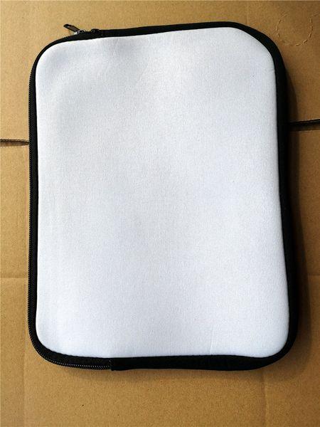 sublimation vierge néoprène Tablet PC ordinateur portable couverture sacs doublure taille 8 10 12 13 14 15 pouces impression de transfert à chaud consommable