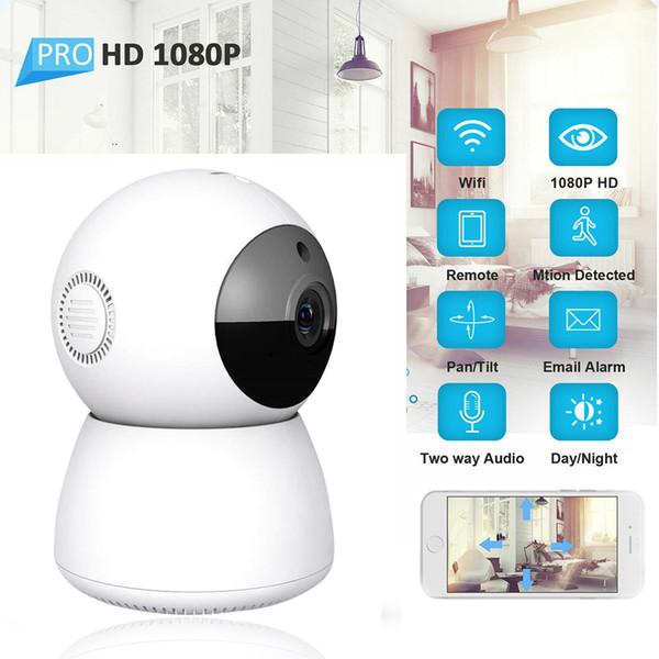 Cámara IP inalámbrica Wi-Fi de seguridad CCTV pequeño hd sistema original de interior kit de cámara de vigilancia de vídeo grabadora de enfoque automático zoom LED infrarrojo