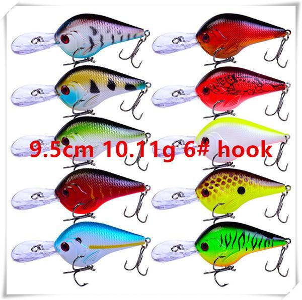 9.5cm 10.11g 6# hooks
