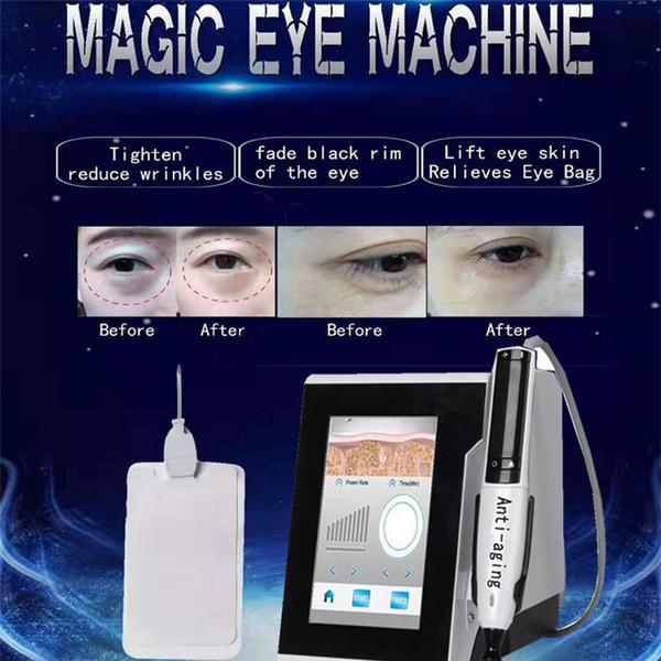 RF bellezza dell'occhio macchina per il miglioramento borse sotto gli occhi occhiaie rimozione delle rughe RF Radio Frequency Eye Care dispositivi di uso della casa