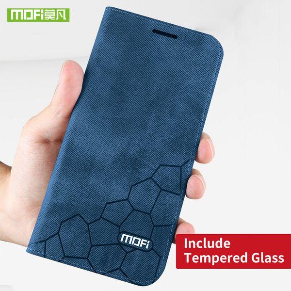 caixa azul e vidro