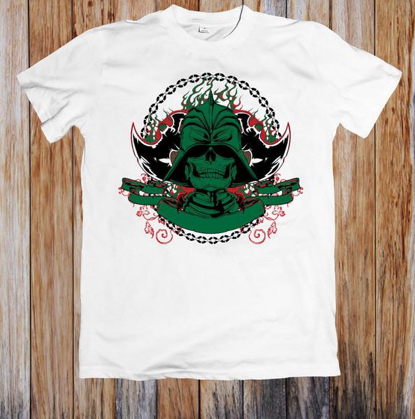Восточный воин унисекс футболка новый 2018 Летняя мода мужская с коротким рукавом хлопок печатных футболки