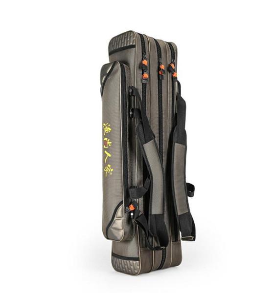3Layers Fishing Bag Waterproof Fishing Backpack Rod Bag Lure Backpack Reel Tackle Borsa Da Pesca #581565