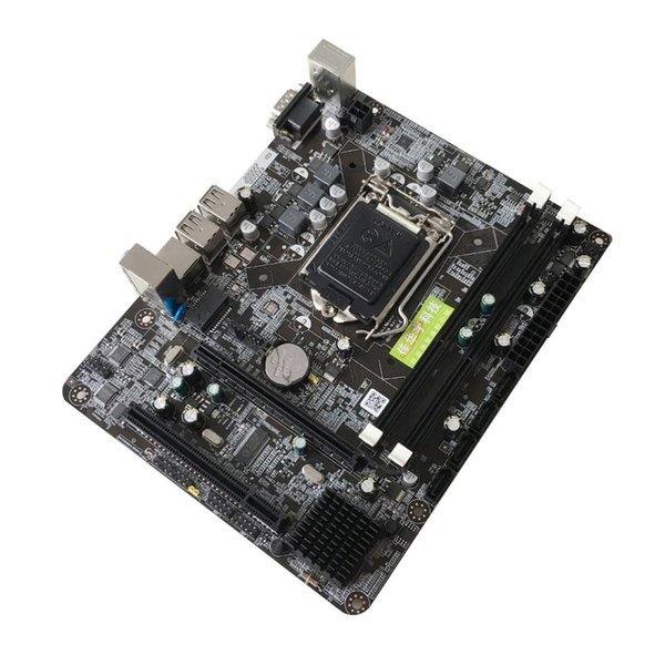 Carte mère Intel P55 6 canaux P55-A-1156 Carte mère Carte mère hautes performances Ordinateur de bureau Interface principale UC LGA 1156