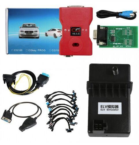 2019 Best CGDI Prog For MB Benz Key Programmer Support All Key Lost with Full Adapters for ELV Repair