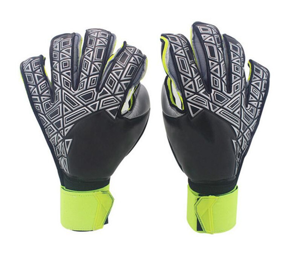 best selling New!!!A+++Quality Brand AD Logo Professional Soccer Goal Keeper Gloves Finger Ptotection Top Latex Goalie Gloves for Men All Top Latex