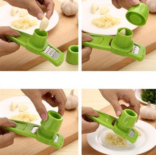 best selling Candy Color Multi Functional Ginger Garlic Grinding Tool Grater Planer Slicer Cutter Cooking Tool Utensils Kitchen Accessories