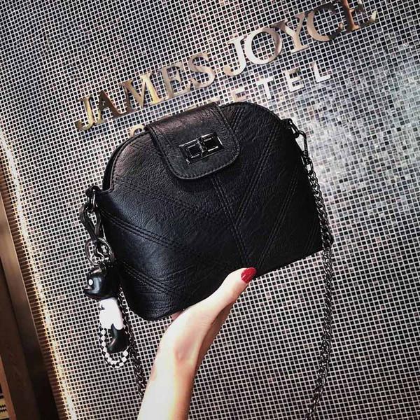 Designer Luxury Handbags Purses Women Easy Matching Shell Bag Hot Ins Single Shoulder Slanting Chain Lady Bags Handbag