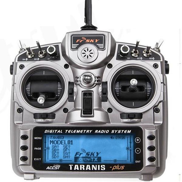 FrSky Taranis X9D Plus 2.4G ACCST Trasmettitore 16CH Radio di telemetria W Selezione ricevitore X8R per drone da corsa multirotore RC