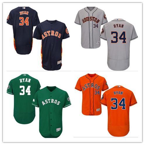 online store 09230 72c2b 2019 2019 Can Astros Jerseys #34 Nolan Ryan Jerseys Men#WOMEN#YOUTH#Men'S  Baseball Jersey Majestic Stitched Professional Sportswear From ...