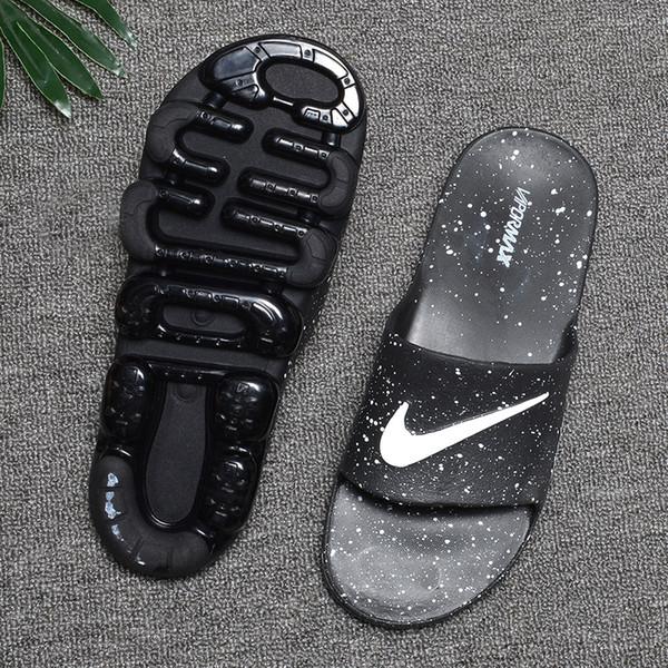 Toptan Yaz erkekler Nefes hava yastığı ile Rahat Terlik Marka Tasarımcı Slaytlar yumuşak Sandalet BOYUTU 40-45