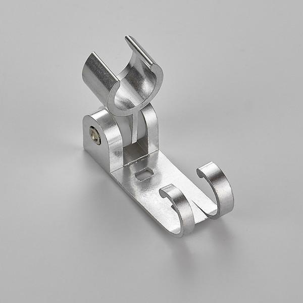 Adjustable Aluminum Shower Head Holder Stand Bracket Wall Mount Hook Bathroom
