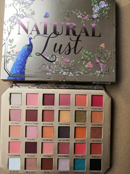 30color Face Makeup Natural Lust Matte Eyeshadow Palette Shimmer Natural Long Lasting Eye Shadow Palette free shipping