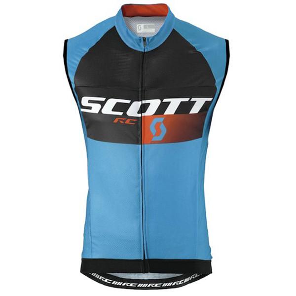 Скотт команда Велоспорт без рукавов Джерси жилет Велоспорт Джерси дорожный велосипед рубашка Ropa Ciclismo MTB мужская велосипедная одежда Y52933