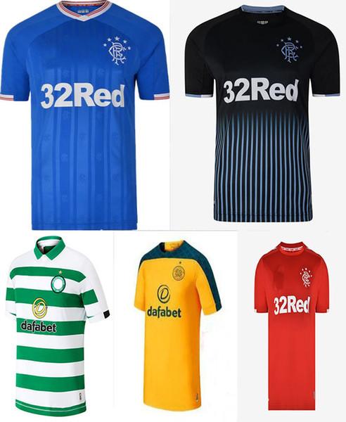 Willkommen zu bestellen 2019 2020 Glasgow Rangers FC Heim Auswärts TAVERNIER Fußball Trikots 19 20 Rangers MURPHY FC Größe XXS-XXL