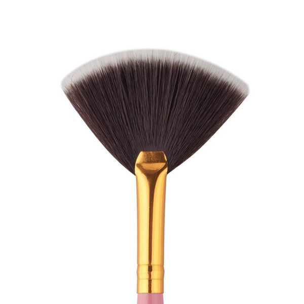 Professional Makeup Brushes 15cm Fiber Fan Brush Powder Foundation Make Up Brushes Korean Pincel Maquiagem