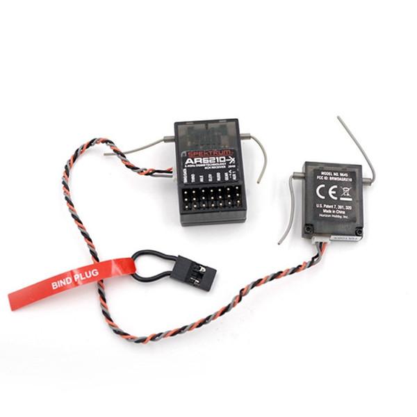 Control remoto AR6210 DSMX Receptor RX Admite DSM2 con satélite para el control remoto del transmisor Spektrum RC